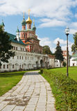wall of the Novodevichy Convent. Moscow. Royalty Free Stock Photo
