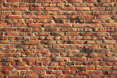 Wall Of Brick Royalty Free Stock Photos