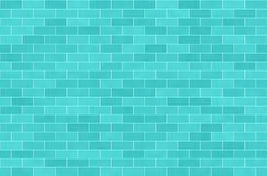 Free Wall Of Turquoise Bricks, Abstract Seamless Background Stock Images - 145325414