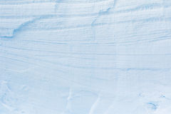 Wall off Antarctic Ice and Snow Royalty Free Stock Image