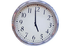 Wall office clock Royalty Free Stock Photo