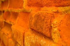 Wall old angle Royalty Free Stock Photography