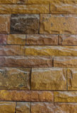 Old wall made of sandstone, beautiful design for the background. stock photo