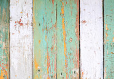 The wall of the old boards. Retro wooden texture. Abstract background. Stock Images