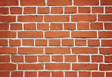 Wall of old brick for background Royalty Free Stock Photography