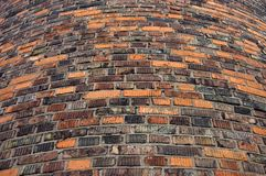 Wall from the old bricks Royalty Free Stock Photography