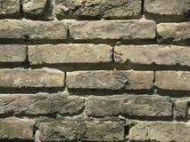 Wall from old bricks stock photo