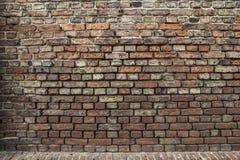 A wall of old bricks Royalty Free Stock Image