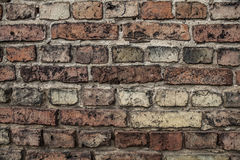 A wall of old bricks Stock Photography