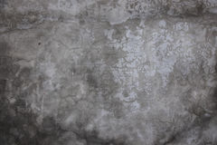 Wall. Old concrete wall in gray cracked Royalty Free Stock Photos