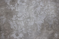 Wall. Old concrete wall in gray cracked Royalty Free Stock Image