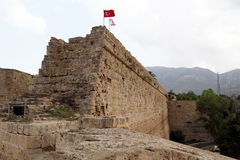 Wall of fortress Royalty Free Stock Images