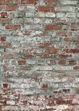 Shabby brick wall. royalty free stock photo