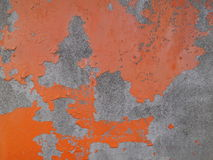 Wall old textured orange background. Wall old crack textured orange background Royalty Free Stock Photo