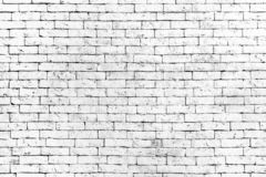 Wall of old white brick, grunge style background texture, can use for design. stock photos