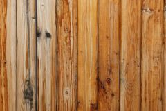 Wall of old wooden boards. Texture in the form of a wall from old wooden boards Stock Photos