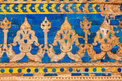 Wall ornaments. Gwalior Fort Royalty Free Stock Photo