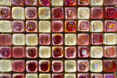 The wall out of the glass Stock Photos