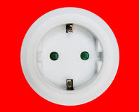 Wall Outlet Royalty Free Stock Photos