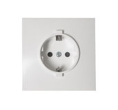 Wall outlet socket Royalty Free Stock Photo
