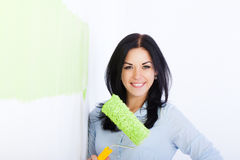Wall Paint Stock Image