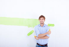 Wall Paint Royalty Free Stock Images