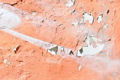 The wall and the paint cracked. Royalty Free Stock Photos