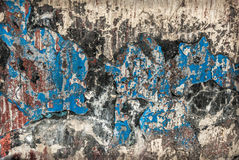 Wall Paint Grunge Stock Image