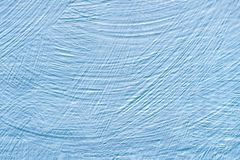 The wall are painted blue. Abstract background royalty free stock photo