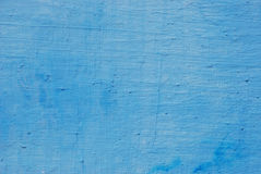 Wall painted blue Stock Image