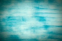 Wall painted in blue and white Stock Photography