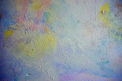 Spotted wall with soft color and texture Royalty Free Stock Photo