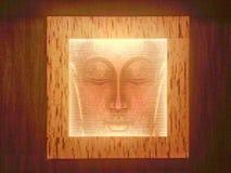 Budha. Wall painting of Budha Royalty Free Stock Photos