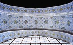 Wall painting of Kok Gumbaz mosque, Uzbekistan Stock Photography