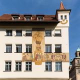 Wall painting or mural Nuremberg Royalty Free Stock Images