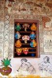 Wall Painting of Orissa Royalty Free Stock Photos