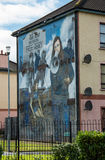 Wall Painting Roads in Derry (LondonDerry) Royalty Free Stock Photos