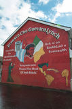 Wall Painting Roads in Derry (LondonDerry) Royalty Free Stock Photo