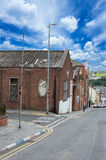 Wall Painting Roads in Derry (LondonDerry) Royalty Free Stock Photography