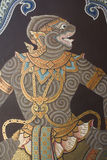 Wall painting in Thai style Stock Photography