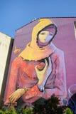 Wall Paintings At Kadikoy,Istanbul, Turkey Royalty Free Stock Photo