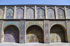 Wall of palace. Wall of Golestan palace in Tehran, Iran Royalty Free Stock Photos