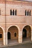 Wall of Palazzo della Ragione in Verona city Royalty Free Stock Photos