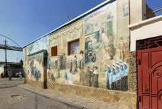 Free Wall Panel Depicting Historical Moments Of Visiting Evpatoria By Emperor Nicholas II And His Family At 52 Karaimskaya Street. Royalty Free Stock Photography - 168641747