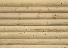 Wall paneled by wood boards Stock Images