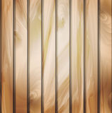 Wall panels with wood detailed texture. Vector Illustration