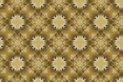 Wall paper brown. Brown wallpaper circles as a background or illustration Royalty Free Stock Photo