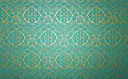 Wall paper with fabric pattern Stock Image