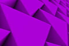 Wall of paper prisms Royalty Free Stock Images
