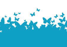 Wall-paper a template of the butterfly Royalty Free Stock Photography